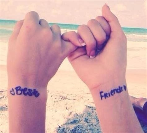 best friend tattoos on wrist friendship tattoos and designs page 169