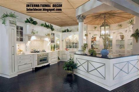 Kitchen Luxury White Kitchens Luxury Modular Kitchen Design Idea With White Trend Home Design And Decor