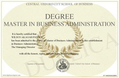 Master S Degree In Business Mba business degrees business administration masters degree