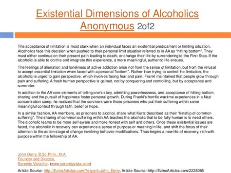 Detox Scholarly Articles by Derry Scholarly Works On Addiction