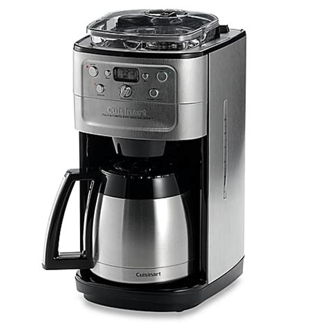 Coffee Grinder Brewer Cuisinart 174 Grind Brew Thermal 12 Cup Automatic Coffee
