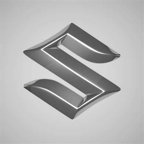 logo suzuki mobil 3d model suzuki logo 25454