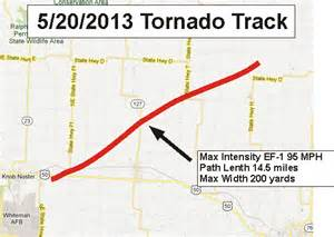 national weather service confirms tornado in knob noster