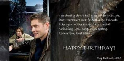 Supernatural Birthday Meme - happy birthday supernatural happy birthday to ckll