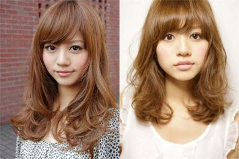 before and after korean short perm hairstyle korean digital perm hairstyle 2014 for women