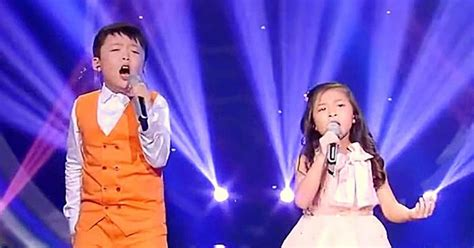 edinburgh tattoo you raise me up little kids in china perform a touching cover of you