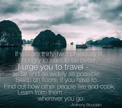 bid on travel anthony bourdain quote travel quotes