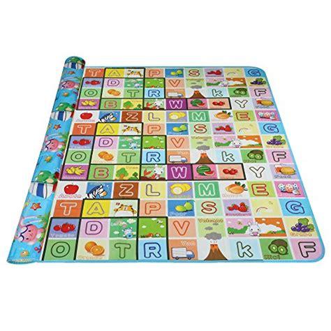 arshiner baby kid toddler play crawl mat carpet playmat