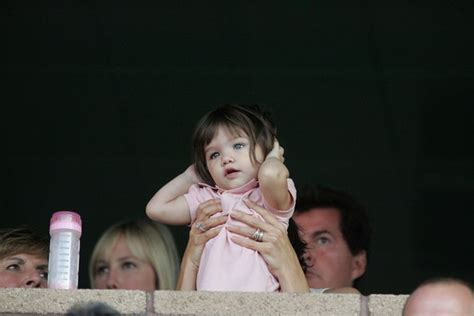 And Suri La Galaxy Vs Chelsea by Suri Cruise Photos At The La Galaxy Vs