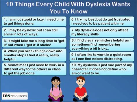 10 things need to learn finding dyslexia information bloomfield sepac