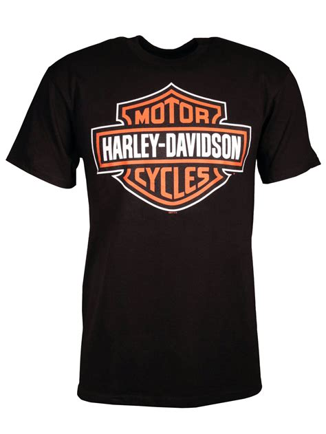 harley davidson t shirt significant bar shield at
