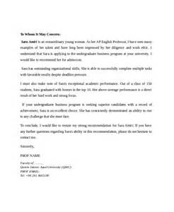 professor letter of recommendation template 7 reference letter for templates free sle