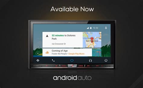 Android Auto Unit by Pioneer S Nex Series Of Android Auto Units Are Now