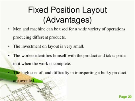 product layout merits and demerits plant layout