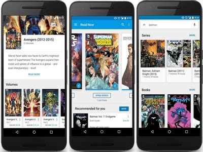 google play books update makes reading superman and other