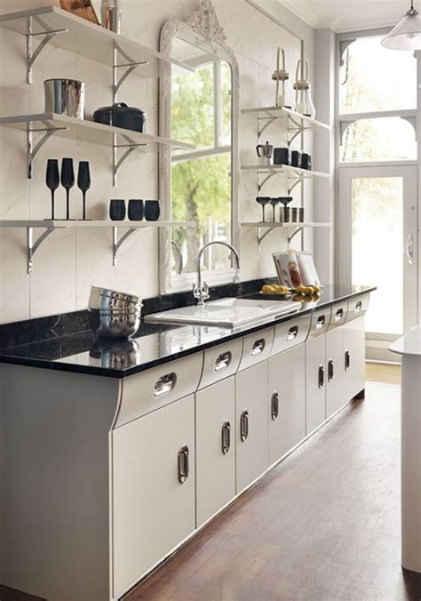 lewis and 1950s kitchen on