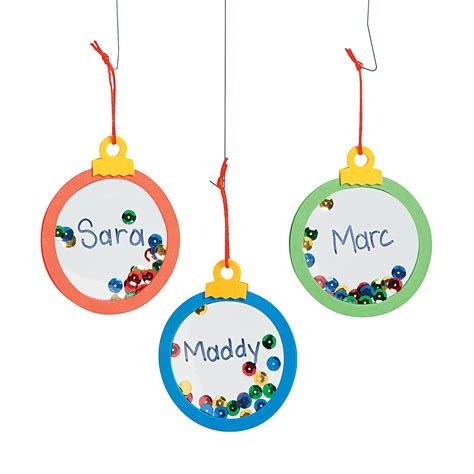 mini clear christmas ornament craft kit ornament crafts
