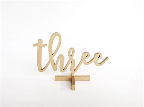 gold calligraphy table numbers gold wooden calligraphy table number rentals lucky day