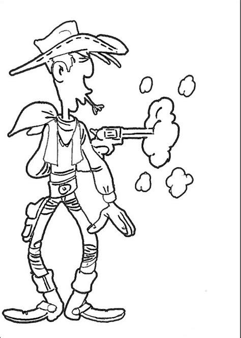 coloring pages luck lucky luke coloring pages coloringpages1001
