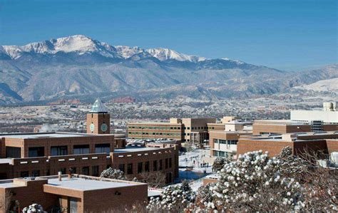 Colorado State Mba Ranking Us News by Of Colorado At Colorado Springs