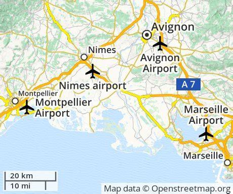 map of avignon cheap flights to avignon euroflights info