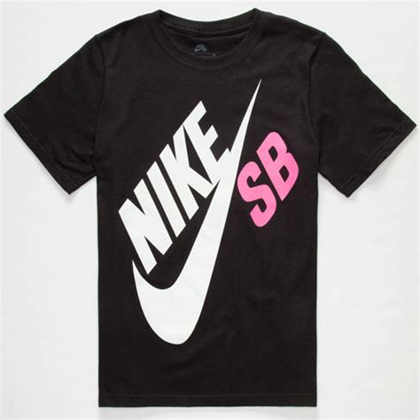 Hoodie Nike Just Do It Logo Depan Big Black nike sb big logo boys t shirt black pink from tilly s