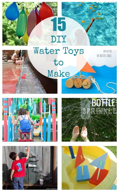 diy backyard toys 15 diy water toys to beat the heat nbws pool service for solano and napa county