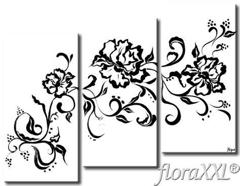 fiori bianchi e neri quadro decorativo fiori bianchi e neri floraxxl