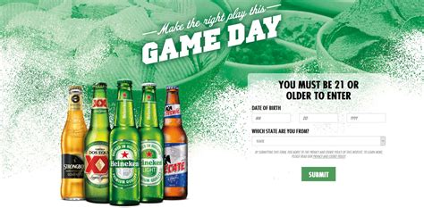 Colorado Sweepstakes 2017 - heineken usa what s your play sweepstakes 2017 giftout free giveaways