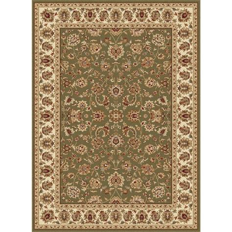 Ottomanson Traditional Oriental Beige 5 Ft 3 In X 7 Ft Area Rugs 5x7 Home Depot