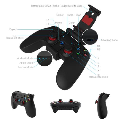 Smartphone Wireless 2 4ghz Gamepad gamesir g3s 2 4ghz wireless bluetooth gamepad controller