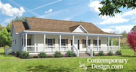 Ranch Style House Plans With Wrap Around Porch by Ranch Style House With Wrap Around Porch