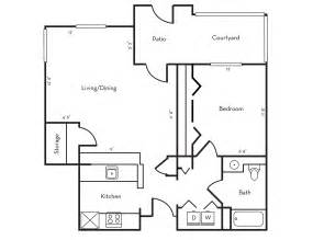 Floor Pln by Floor Plans Stanford West Apartments
