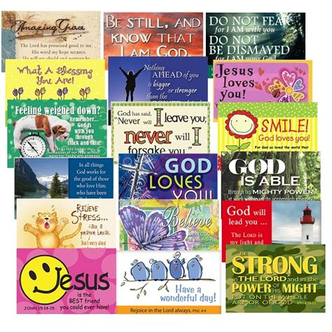 Pkg 50 Christian Message Cards Pass It On Variety Pack | pkg 50 christian message cards pass it on variety pack