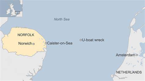 german u boat locations bbc news lost ww1 german u boat wreck found off norfolk