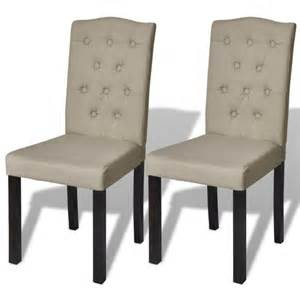 Formidable Chaises De Salle A Manger Design #1: 2-chaises-de-cuisine-salon-salle-a-manger-design-beiges-1902007.jpg