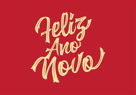 feliz ano novo lettering   vectors clipart graphics vector art