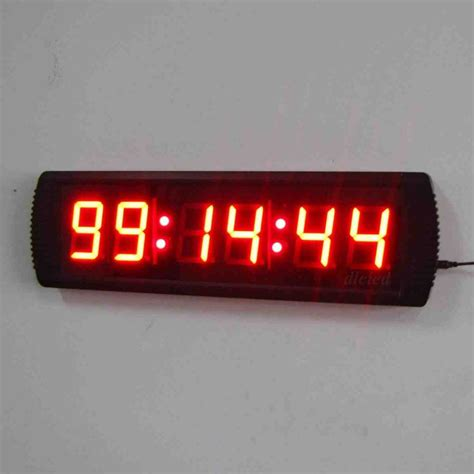 wall clock digital large digital wall clock with seconds decor ideasdecor ideas