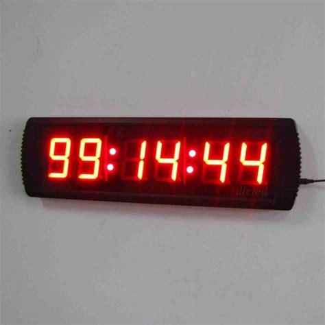 digital wall clock large digital wall clock with seconds decor ideasdecor ideas