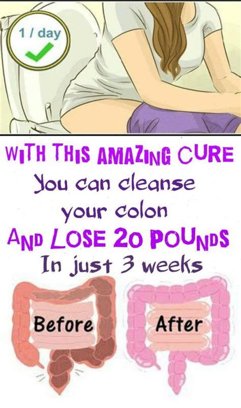 Can You Detox Your by With This Amazing Cure You Can Cleanse Your Colon And Lose