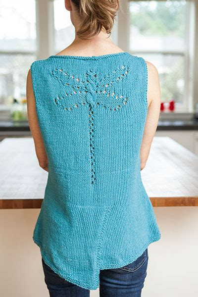 knit tank top pattern dragonfly tank top knitting patterns and crochet