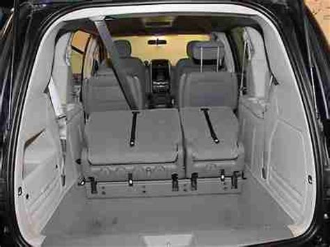 stow and go seating vehicles buy used stow n go 3rd row mp3 sirius uconnect alloy