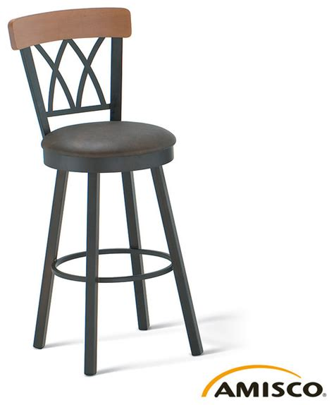 modern bar stools los angeles amisco brittany swivel stool modern bar stools and