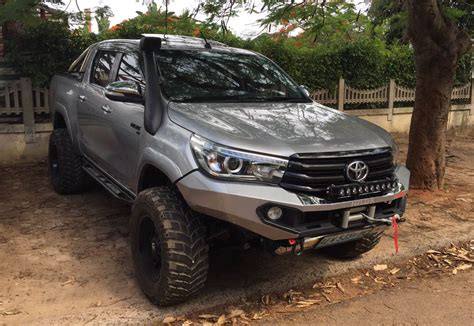 Light Bar Rear Bumper L Innova Fortuner Camry rhino 4 215 4 toyota hilux 2016 front evolution 3d bumper road 4x4 travel overland and