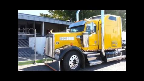 kenworth canadiense tractocamion kenworth w900 2002 amarillo youtube