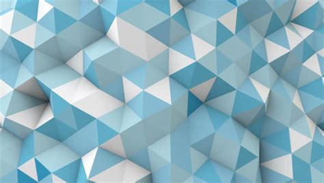 pattern for up pcs blue triangles computer generated seamless loop abstract