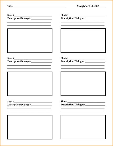 9 Download Storyboard Template Odr2017 Storyboard Template For Powerpoint