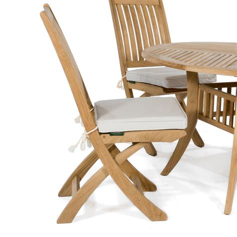 Dining Chairs Cushions Sunbrella Dining Chair Cushion Westminster Teak Outdoor Furniture