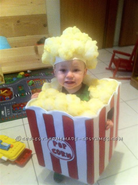 homemade toddler popcorn halloween costume coolest