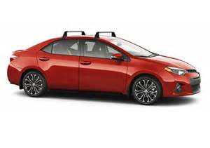 Toyota Corolla Roof Rack Toyota Canada Corolla Gt Options Accessory Pricing